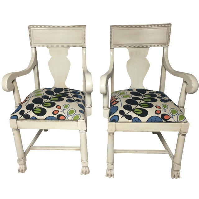 Restored Empire Chairs - A Pair - Image 1 of 5