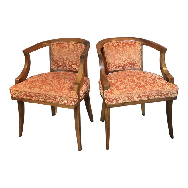 Maple Dining Room Set: Early 20th Century Maple Dining Room Chairs