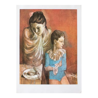 1971 Picasso, Mother and Child Period Parisian Photogravure For Sale