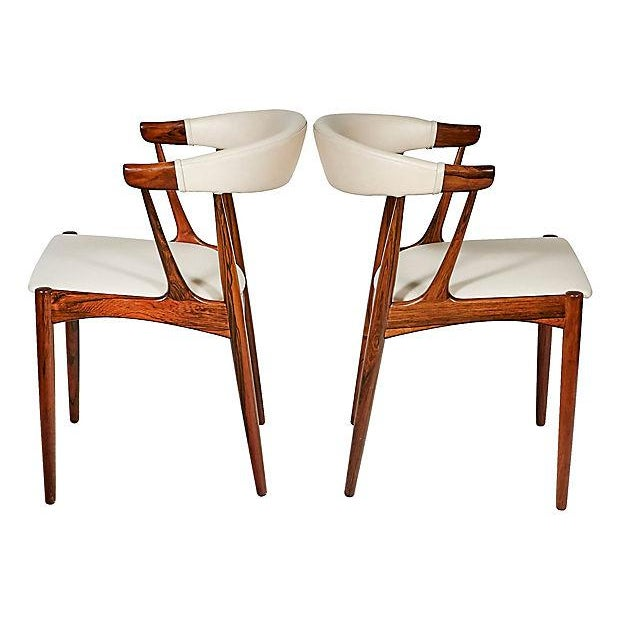 Danish Rosewood & Leather Dining Chairs - Image 5 of 12