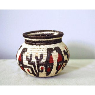 Tribal Figurative Wounaan Basket Preview
