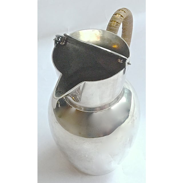 Mid-Century Modern WMF German Silverplated Pitcher For Sale - Image 7 of 9