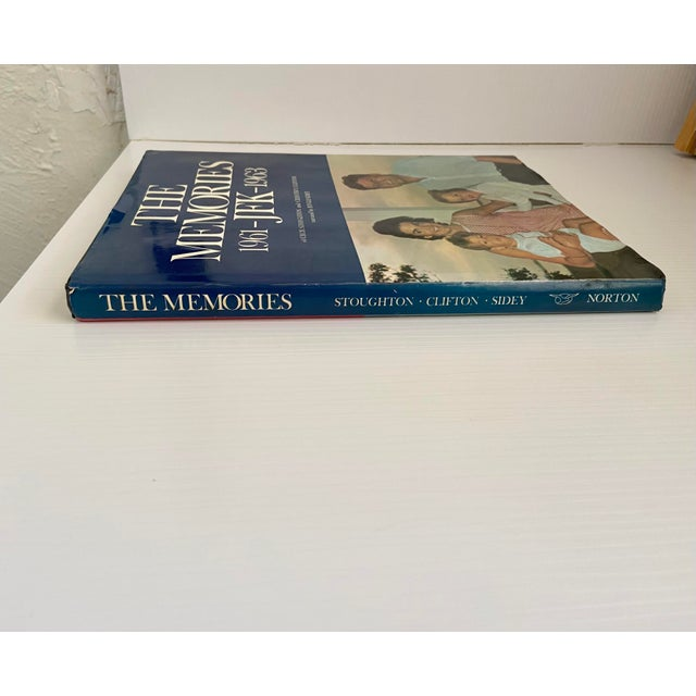 """Vintage 1973 """"The Memories: Jfk, 1961-1963"""" 1st Edition Hardcover Book For Sale - Image 9 of 13"""