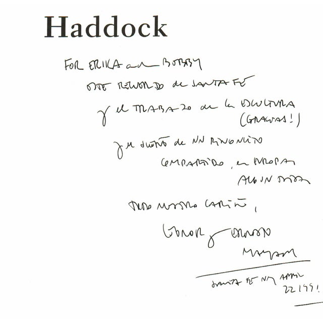 Haddock: A Painter's Life - SIGNED For Sale In Atlanta - Image 6 of 8