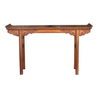 Mid Century Asian Altar Table For Sale