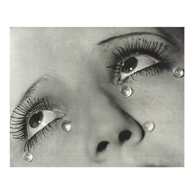 """Glass Tears"" Man Ray Lithograph For Sale"