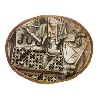 1971 Picasso Abstract Parisian Photogravure, Nature Morte à La Chaise Cannée For Sale