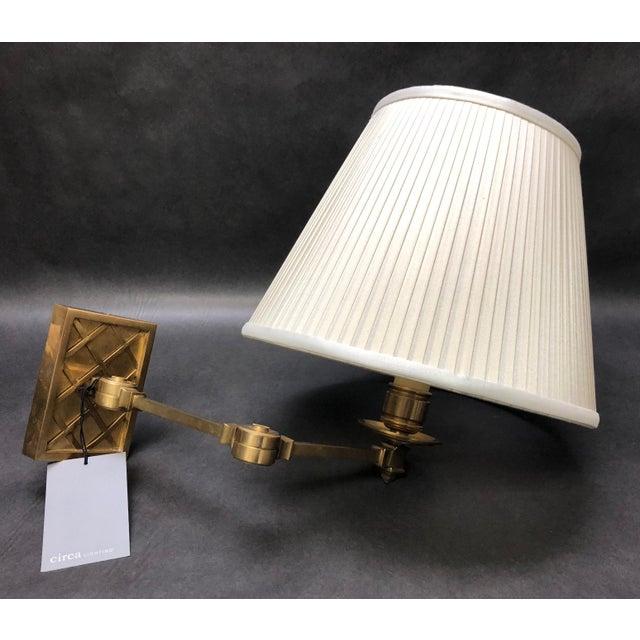 "Alexa Hampton ""Gene Swing Arm"" Wall Lamp for Visual Comfort For Sale - Image 10 of 10"