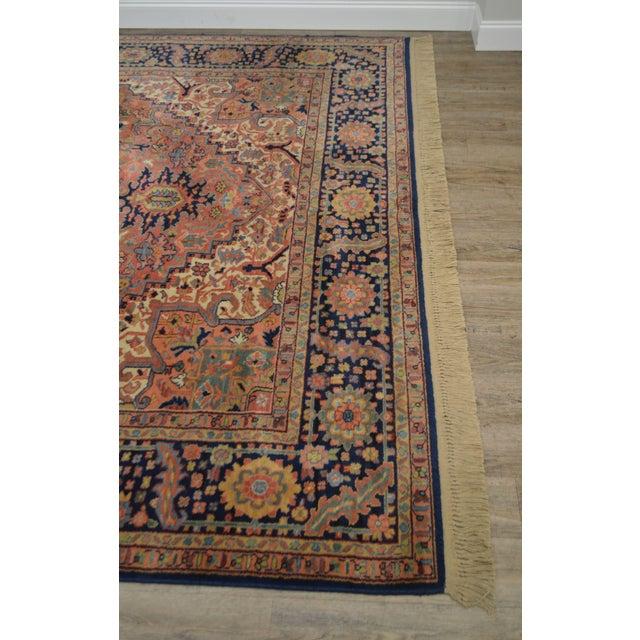 Karastan Heriz Serapi 9 X 12 Room Size Rug # 726 For Sale - Image 4 of 13