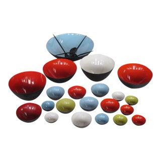Krenit Bowls Denmark Serving Bowls - Set of 20