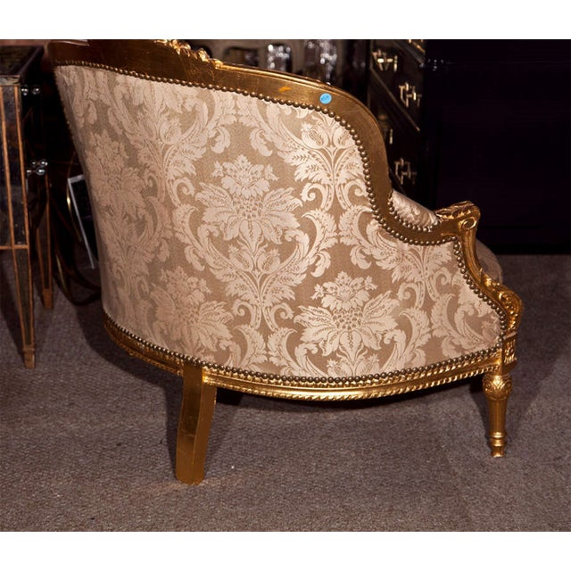 French Louis XVI Style Corner Chair For Sale - Image 7 of 7