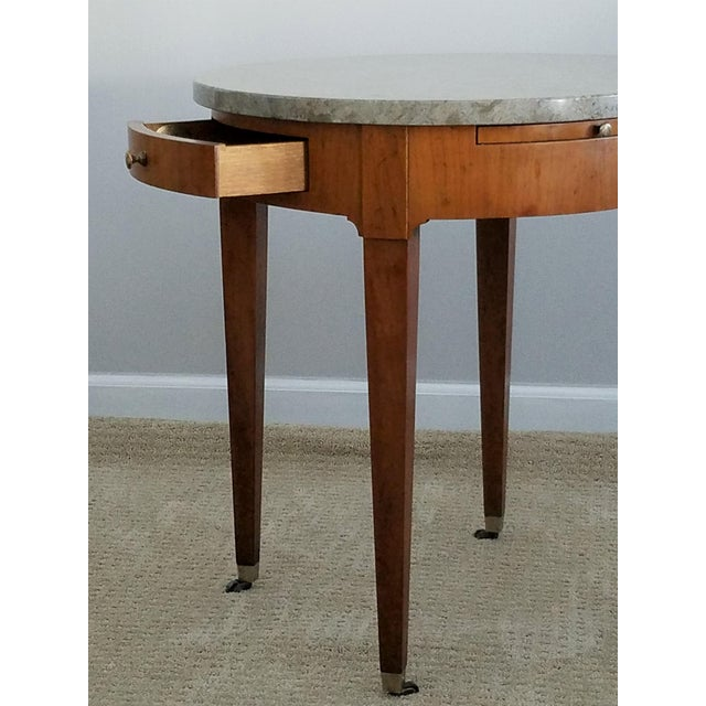 Baker Signature Bouillotte Tables - A Pair - Image 5 of 8