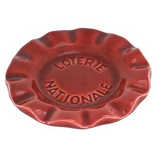 1960s French Bistro National Lottery Ashtray Preview