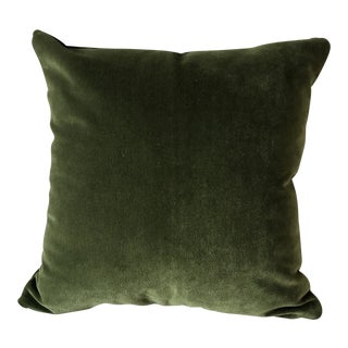 Kravet Versailles Velvet Square Pillow For Sale