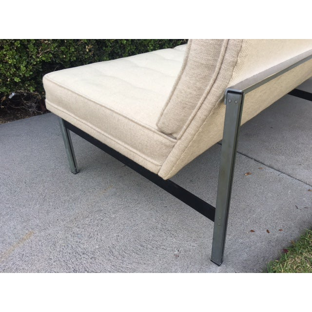 "Florence Knoll ""Parallel Bar"" Armless Sofa For Sale - Image 7 of 8"