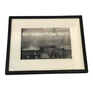 """""""Soup Served"""" Contemporary Photograph by Jon Randolph For Sale"""