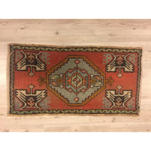"Anatolian Tribal Handmade Carpet - 1'7"" x 3' - Image 6 of 6"