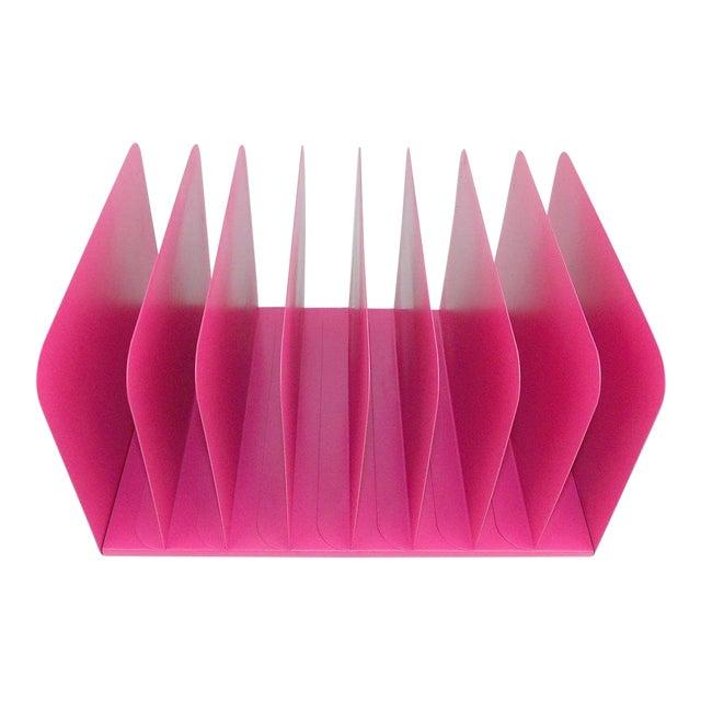 Pink Metal File Organizer For Sale
