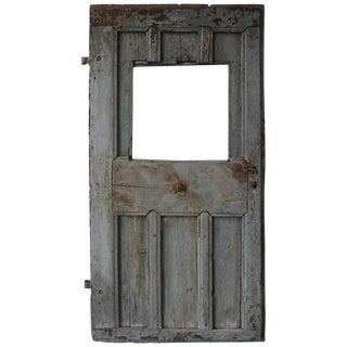 Single Antique European Farm Door For Sale