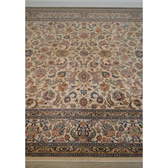"""Karastan 8'8"""" X 10'6"""" Tabriz Room Size Rug Carpet For Sale - Image 10 of 12"""