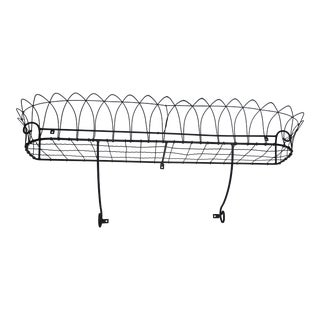 French Wall Pot Rack For Sale