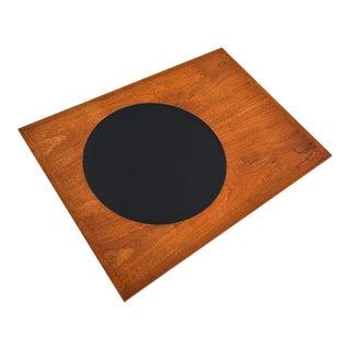 "Paul Mccobb ""signature"" Series Walnut + Laminate Side Table For Sale"