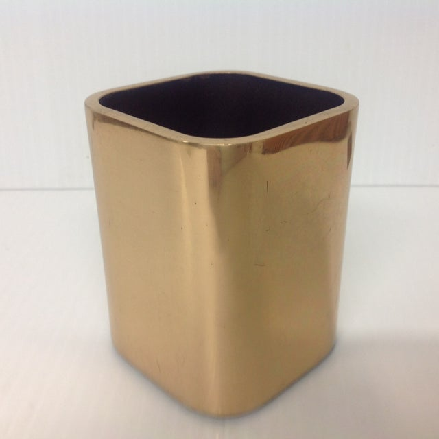 Awesome Copper Holder by Smith Metal Arts N.Y. Great for your office!