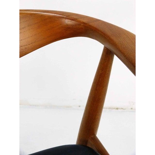 Danish Modern Teak Barrel Arm Chair - Image 10 of 10