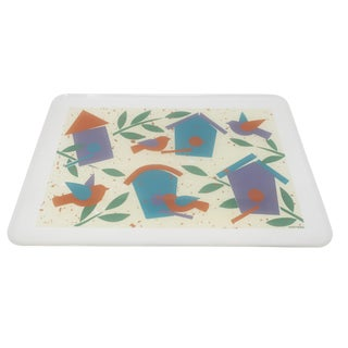 Pair of 1980s Stotter Plastic Serving Trays For Sale