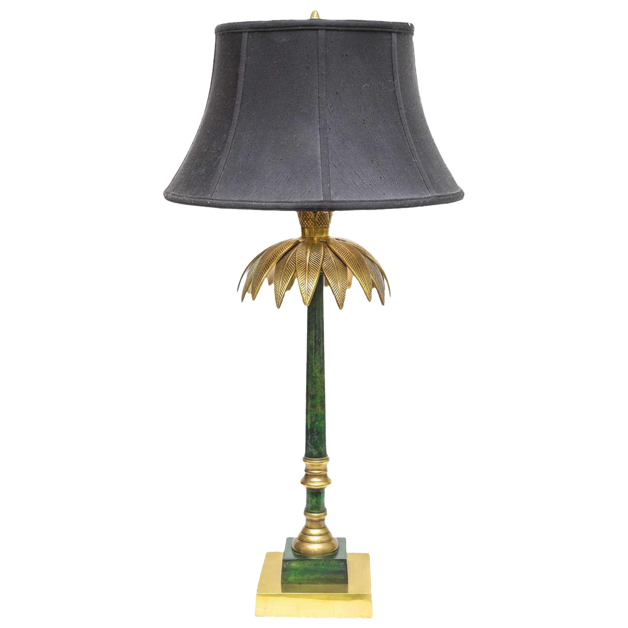 Palm Leaf Table Lamp By Wildwood