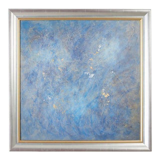 Avra Dez Abstract Painting Lapis Nebula, 2008 For Sale