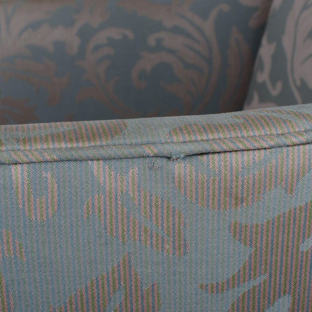 Southwood Sheraton Style Inlaid Mahogany Club Chairs - A Pair For Sale - Image 10 of 10