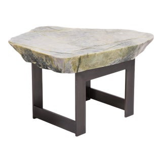 Meditation Stone Top Table For Sale