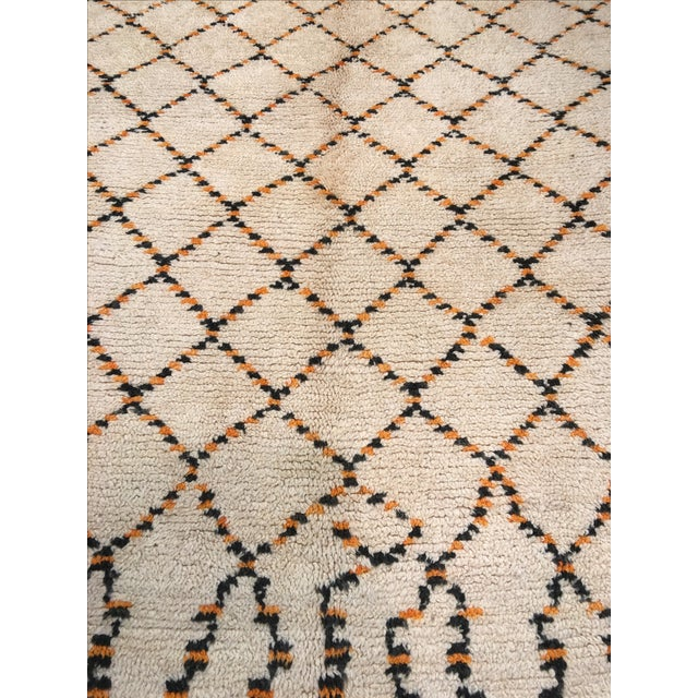 """Textile Bellwether Rugs Moroccan Atlas Mountains Rug - 5'7"""" 9'7"""" For Sale - Image 7 of 7"""
