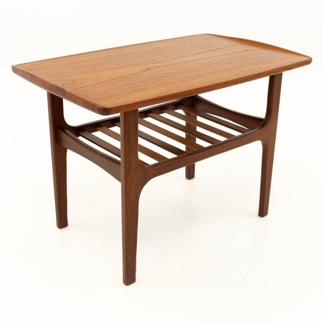 Mid Century Modern Teak Occasional Table For Sale - Image 10 of 10