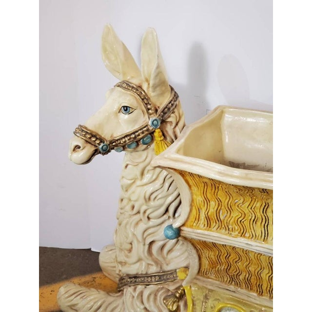 Vintage Indoor Llama Figural Planter For Sale In Dallas - Image 6 of 11