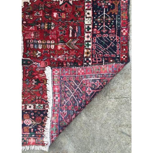 Antique Persian Karajeh Rug - 5′1″ × 6′2″ - Image 5 of 6