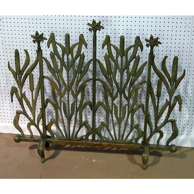 Mid 20th Century Art Deco Fireplace Screen For Sale - Image 5 of 5