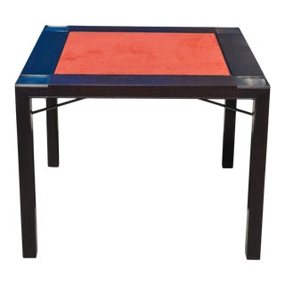 Contemporary Holly Hunt Flip Top Table For Sale