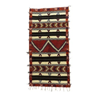Contemporary Glaoui Berber Rug - 3′ × 6′1″ For Sale