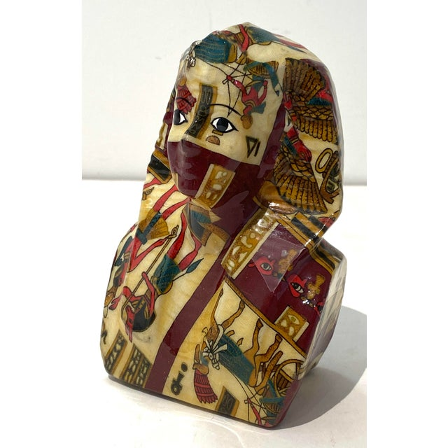 Vintage King Tut Egypt Figurine For Sale - Image 9 of 9