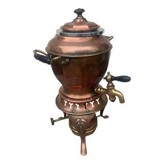 1900 Antique Copper Samovar For Sale