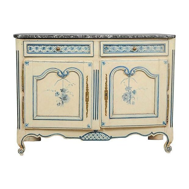 Antique Louis XV Provençal Painted Sideboard For Sale