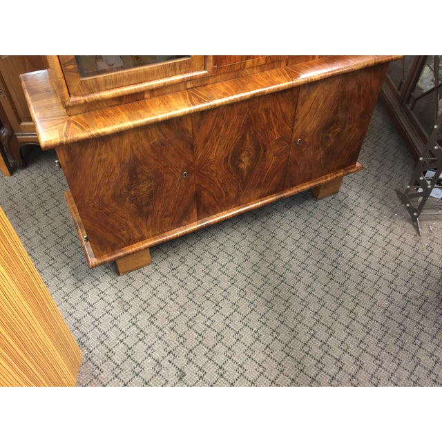 Walnut French Art Deco Bar - Image 4 of 10
