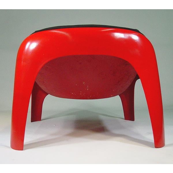 1960s Rare Sergio Mazza Lounge Chair for Artemide For Sale - Image 5 of 6