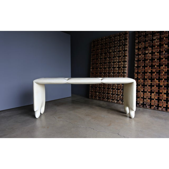 "Goatskin ""Puzzle"" Console by Scala Luxury For Sale - Image 10 of 13"
