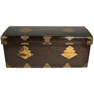 Japanese Lacquer Chest For Sale