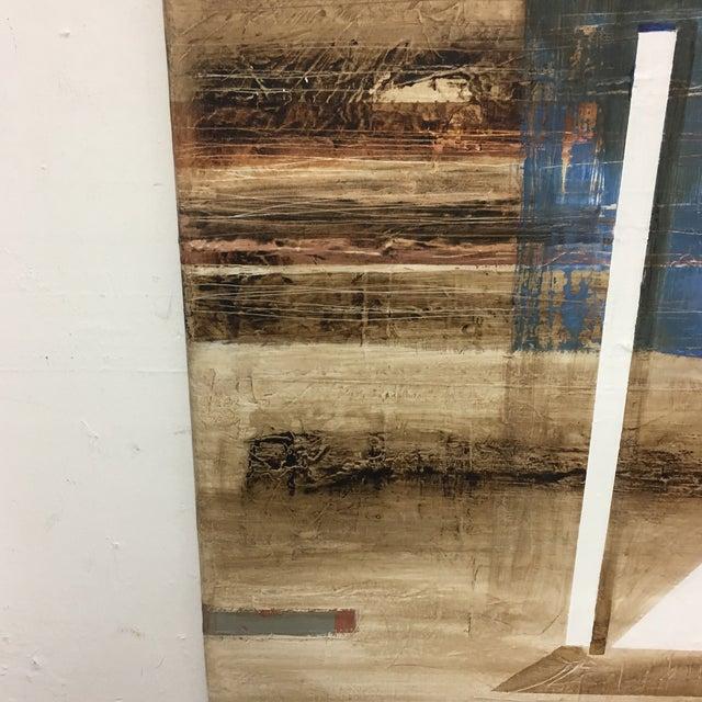 Claudio Feldman Original Oil on Canvas Painting For Sale - Image 5 of 10