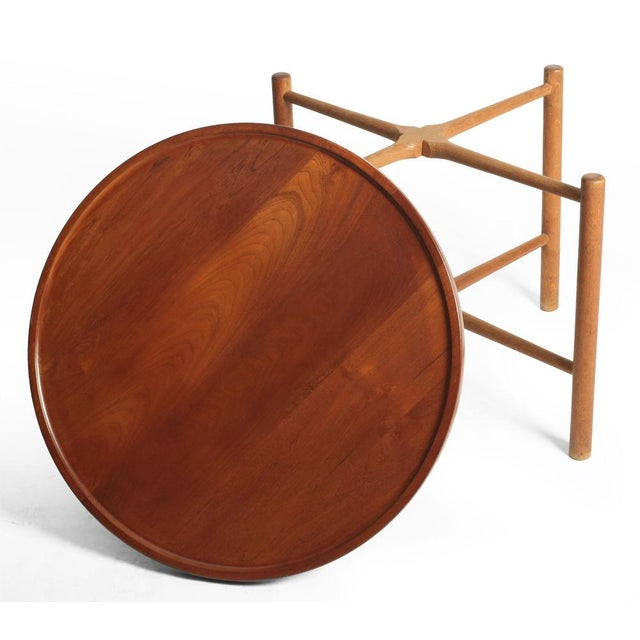 Hans J. Wegner Knock Down Occasional Table For Sale In New York - Image 6 of 7