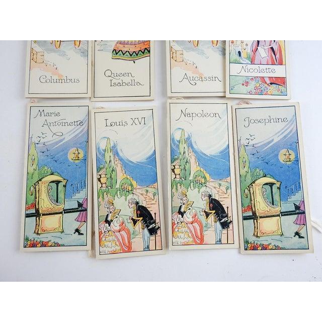 1920s Box Set 1920's Vintage Romance Series Bridge Tally Cards For Sale - Image 5 of 7